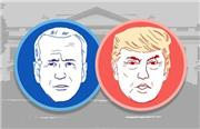روزشمار انتخابات آمریكا؛ کاهش فاصله ترامپ و بایدن ۷ روز مانده به انتخابات